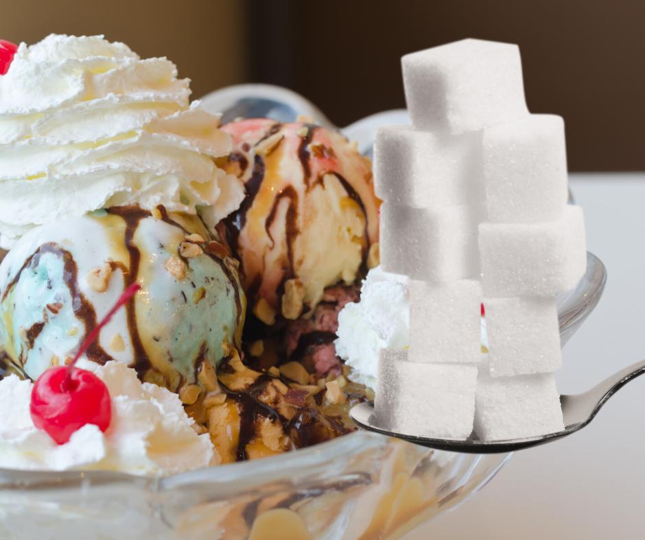 Zuckergehalt Eis
