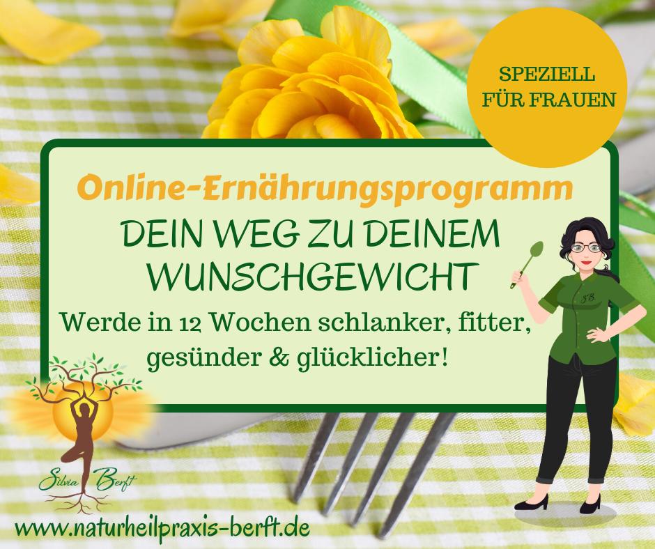 Online Ernährungsprogramm