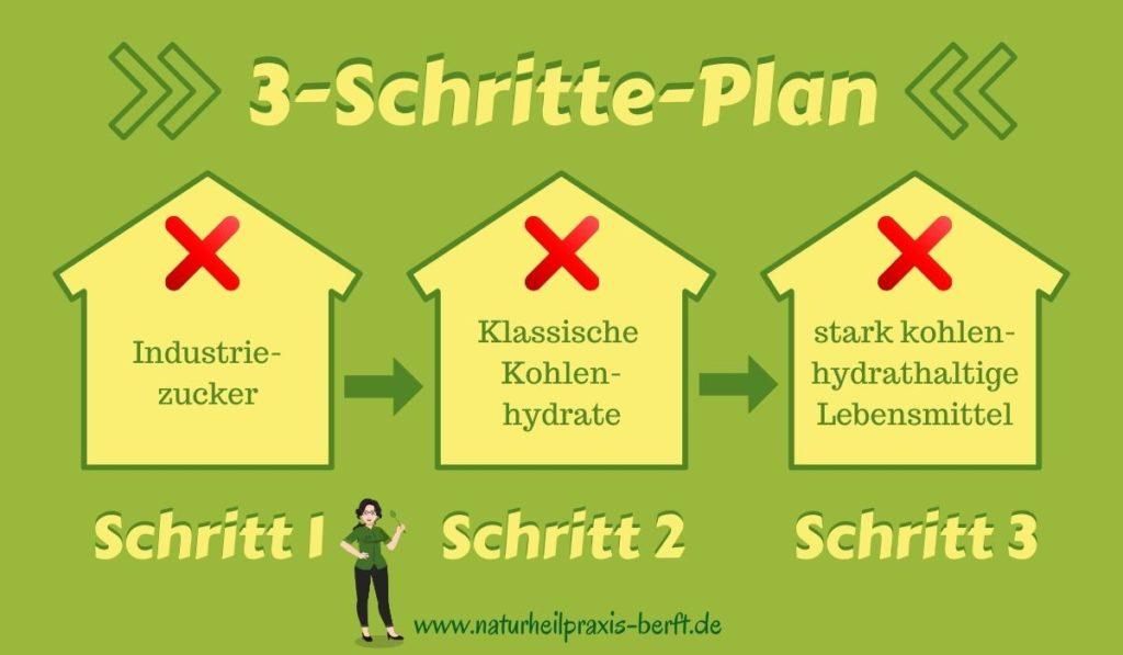3-Schritte-Plan Keto