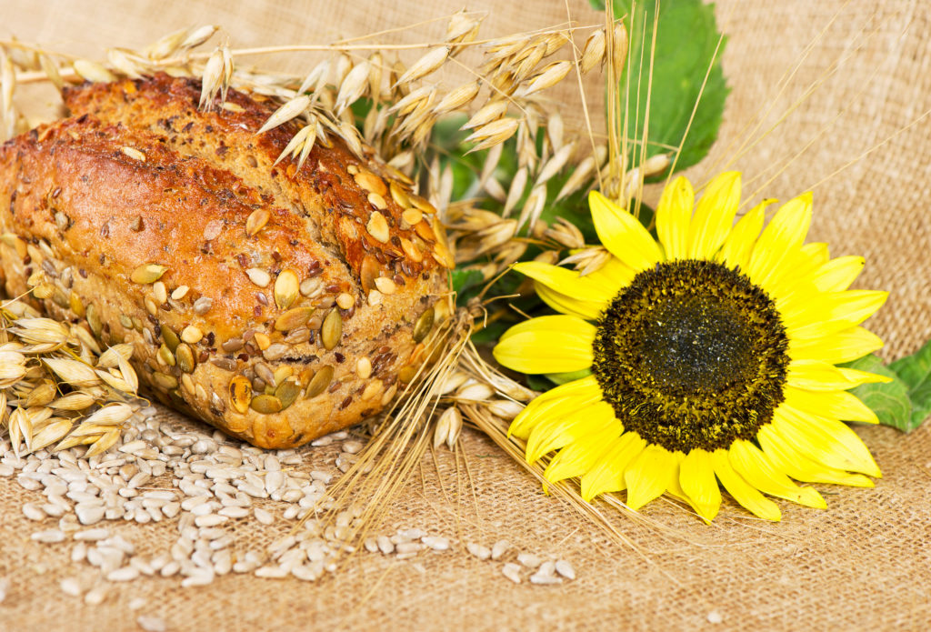 ketogenes Brot mit Sonnenblumenkernen